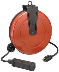 34-83928 30 Foot Retractable Extension Cord and Reel - - Amazon.com