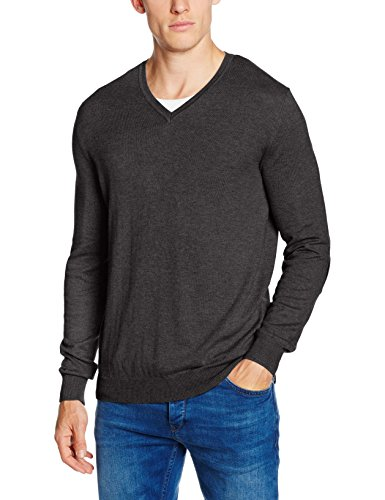 Celio Fever, Felpa Uomo, Gris (Heather Anthracite), XX-Large