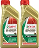Castrol Edge 5W-40 FST Fully Synthetic Engine Oil CAS-2061-7114-2 = 2x1L = 2L