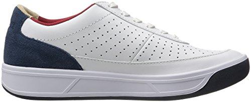 Lacoste Women's Aceline 316 2 Spw Wht/Nvy Fashion Sneaker, White/Navy, 9 M US