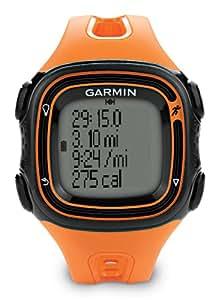 Garmin GPS Laufuhr Forerunner 10, Orange/Schwarz, 010-01039-16