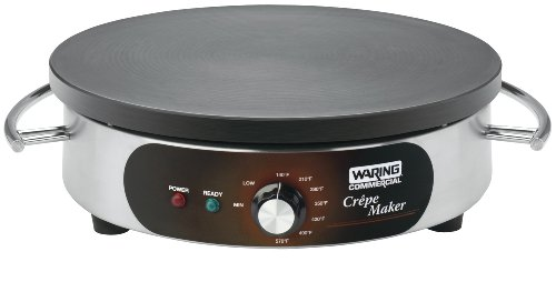 Best Prices! Waring Commercial WSC160 Heavy-Duty Commercial Electric Crepe Maker, 16-Inch