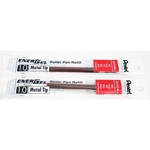 Pentel LR10-2 Pk B EnerGel Bold Recharge 1,0 mm Rouge