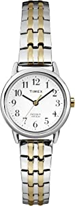 Timex Women's T2P298 Easy Reader Two-Tone Dressy Expansion Band Watch