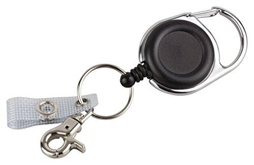 Schlüssel JoJo | Ausweis JoJo mit extra starker Feder und...