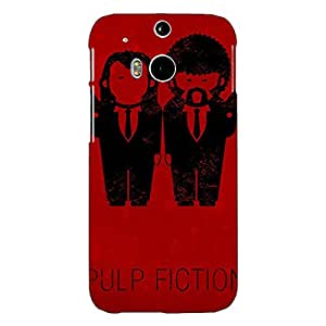 Jugaaduu Pulp Fiction Back Cover Case For HTC One M8 Eye