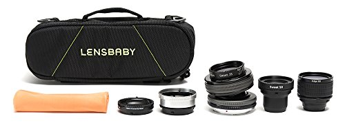 Lensbaby Composer Pro II System Kit for Canon EF (Lensbaby Sweet 35 For Canon compare prices)