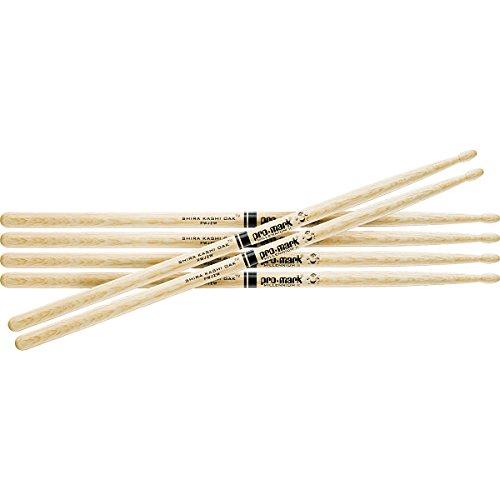 Promark 3-Pair Japanese White Oak Drumsticks Wood 5A