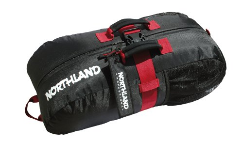 Northland Professional GO ROPE BAG, black/red