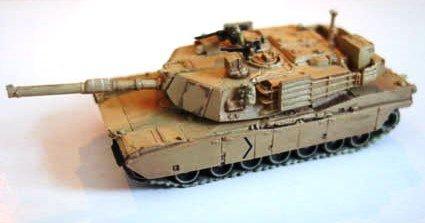 アメリカ軍 M1(プラス)エイブラムス 主力戦車  A1型 デザート迷彩