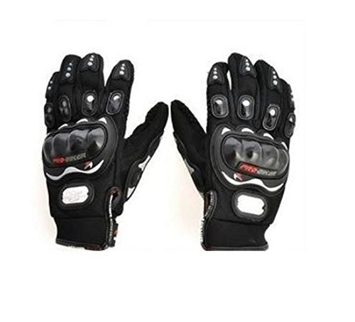 Autofurnish Pro-Biker Motorcycle Riding Gloves (Black)