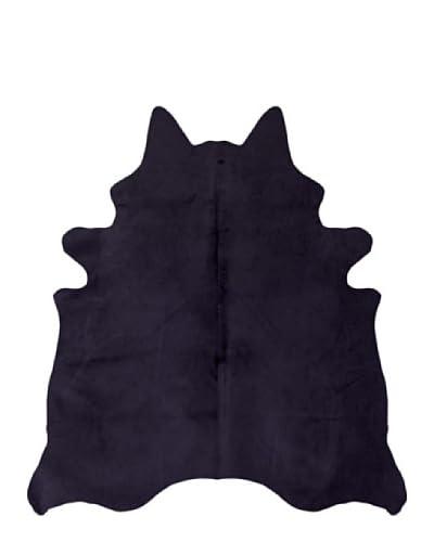 Natural Brand Geneva Cowhide Rug, Purple, 6' x 7'