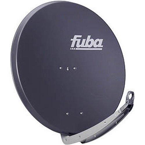 Fuba DAA 780 A Aluminium-Satelliten-Parabolantenne (38,50 dB, Große 78 cm) anthrazit