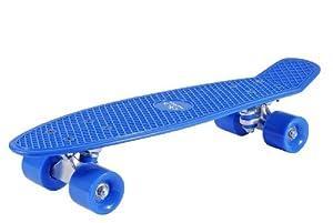 Hudora - 12137 - Vélo et Véhicule pour Enfant - Skateboard Retro - Bleu