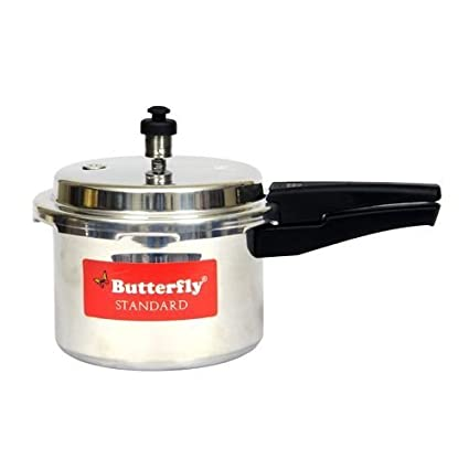Butterfly Standard Aluminium 3 L Pressure Cooker (Outer Lid)
