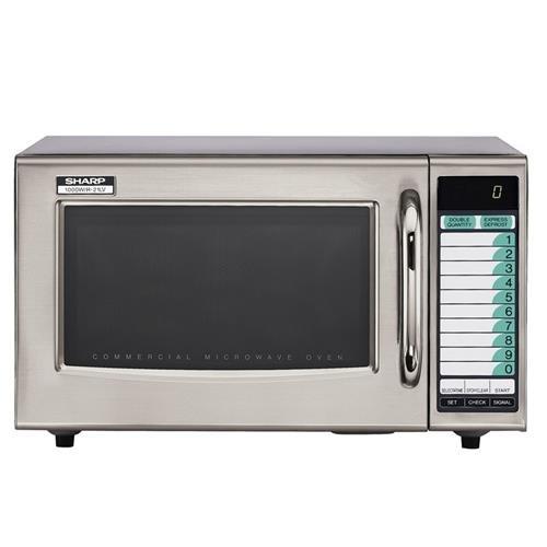 Sharp R-21Lvf 1000 Watt Programmable Commercial Microwave Oven