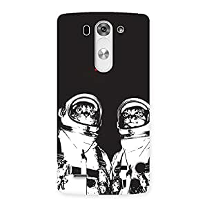 Astro Cat Back Case Cover for LG G3 Mini