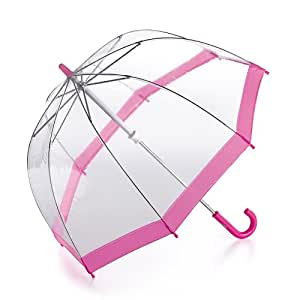 Fulton Funbrella Birdcage Kids Umbrella Pink Trim