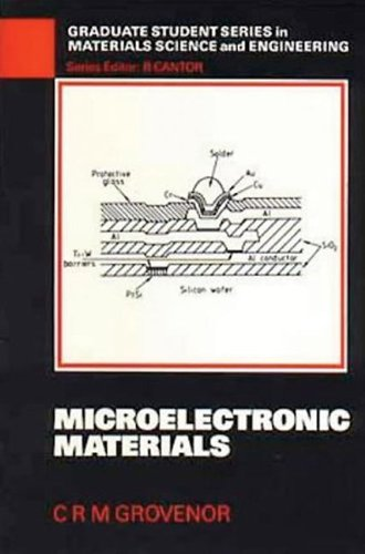 Microelectronic Materials (Graduate Student Series In Materials Science And Engineering)