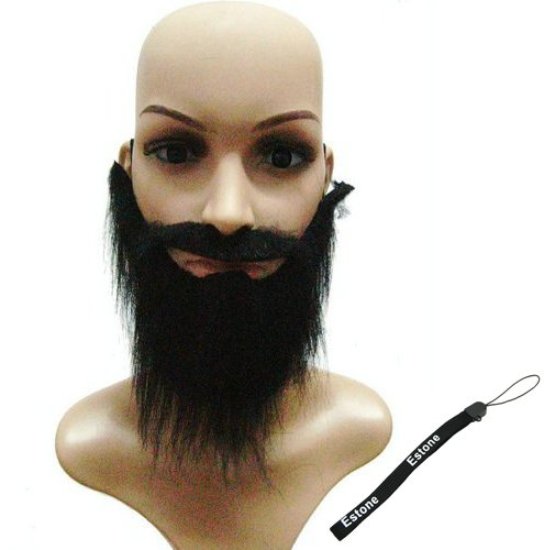 Estone Funny Costume Fancy Party Halloween Fake Beard Moustache Mustache Facial Hair