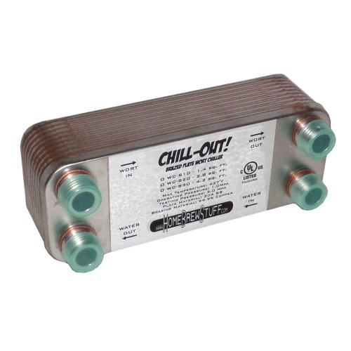 Chill-Out! 20 Plate Wort Chiller
