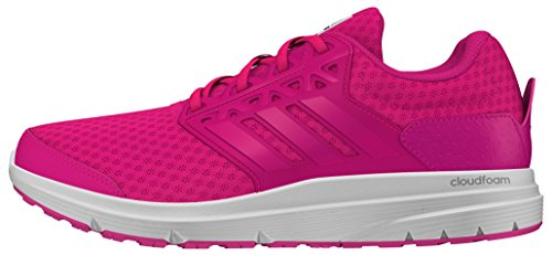 Adidas Galaxy 3 - Scarpe Running Donna, Rosa (Shock Pink/Shock Pink/Core Black), 38 EU