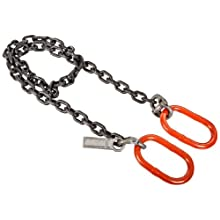 Mazzella CO Mechanical Alloy Chain Sling, Fixed-Leg, Grade 80, Vertical Load Capacity
