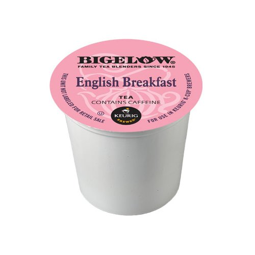 Bigelow K-Cup Portion Pack For Keurig Brewers, English Breakfast Tea, 24 Count