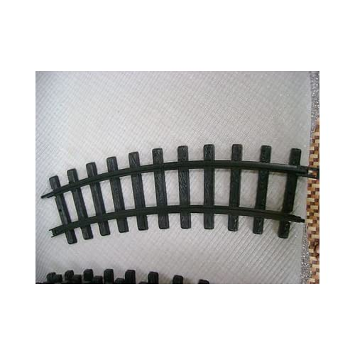 Amazon.com : NEW BRIGHT G-Scale TRACK- CURVED PLASTIC TRACK PIECES