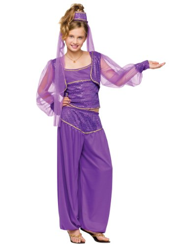 Big Girls' Dreamy Genie Costume Large (12-14)