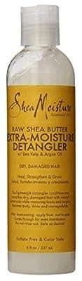 Shea Moisture Detangler Extra Moisture 8oz Raw Shea Butter