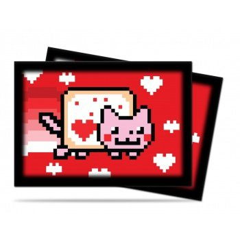 ValentNyan Nyan Cat Small Deck Protector Sleeves by Ultra Pro