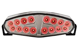 2009-2011 Kawasaki Ninja 650R & ER-6n Integrated Sequential LED Tail Lights Clear Lens