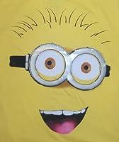 Minion Big Face -- Despicable Me Adult T-Shirt