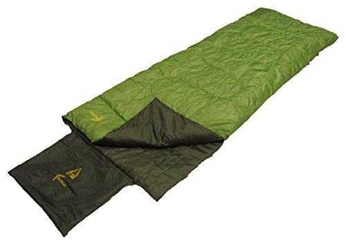 Best Camp, Sacco a pelo da campeggio Murray, Verde (Grün/Dunkelgrün), 190 x 70 x 7 cm