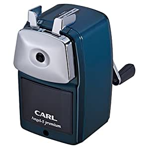 カール事務器 鉛筆削り エンゼル5 プレミアム ブルー A5PR-B