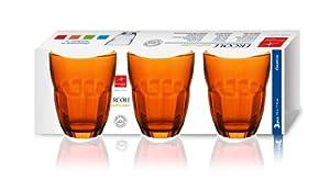 Ercole Arancio  -  Confezione 3 Bicchieri Vino Cl. 23