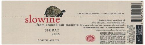 2006 Slowine South Africa Shiraz 750 Ml
