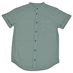 NOQNOQ Ribbed Collar Shirt Boys NN Style 02 BOY C