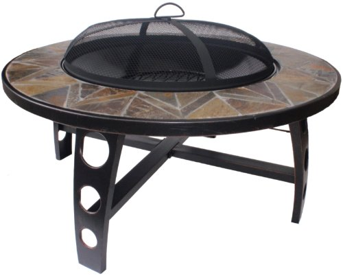 El Fuego® Feuerstelle Tampa, Schwarz, 92x53x92 cm bestellen