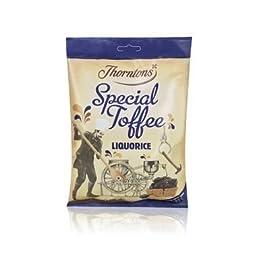 Thorntons Liquorice Toffee Bag 300G