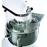 KitchenAid KN1PS 9709923, W10616906 1-Piece Pouring Shield for Tilt-Head Stand Mixers