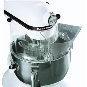 1 Kitchenaid Kn1ps Piece Pouring Shield For Accolade 400 Stand Mixers