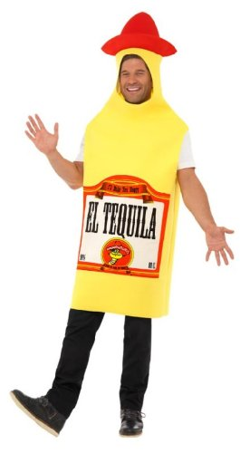 Smiffy's Tequila Bottle Costume with Jumpsuit
