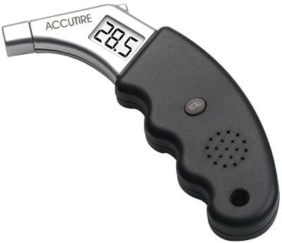 Accutire MS-4441GB Talking Digital Tire Pressure Gauge, English and Spanish