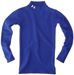 Under Armour Jungen Shirt Ua Cg Compression Mock, 128 (YSM), blau (ryl)