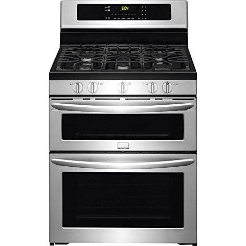 Frigidaire-FGGF304DPF-Gallery-30-Stainless-Steel-Gas-Sealed-Burner-Double-Oven-Range