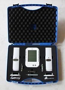Wetterladen Klimalogg Koffer Set Datenlogger KlimaloggPro inklusive 2 Funksender, 95 x 135 x 25 mm  GartenKundenbewertung und Beschreibung