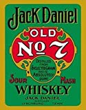 Jack Daniels Green Label steel wall sign (de)