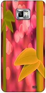 Snoogg Violet Nature Bamboo Abstract Background Protective Case Cover For Sam...